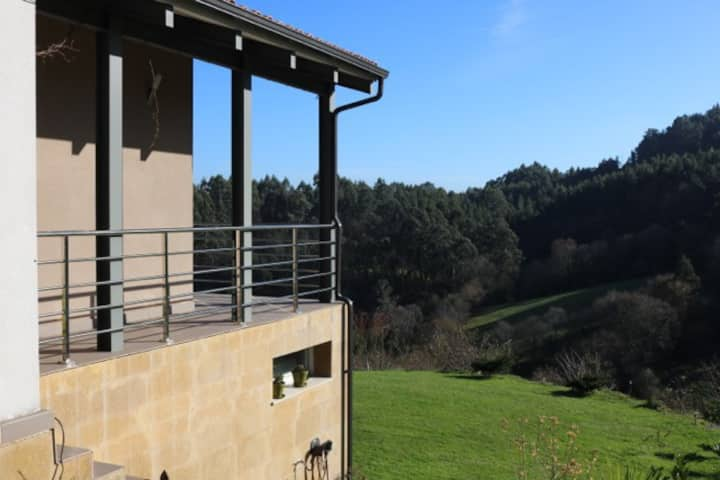 Una casa moderna y acogedora en Asturias