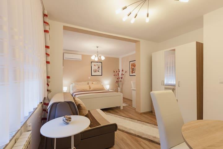 Iris Room & Apartment (Room)