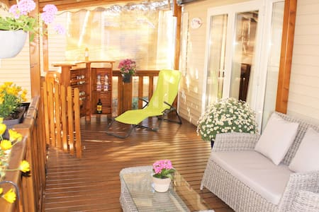 direct access to a beautiful beach - Hyères - Bungalow