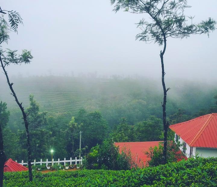 Tea plantation Cottage Vagamon