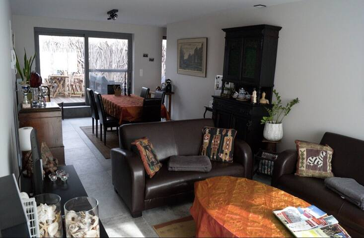Duplex met gezellig terras in Menen naast Halluin