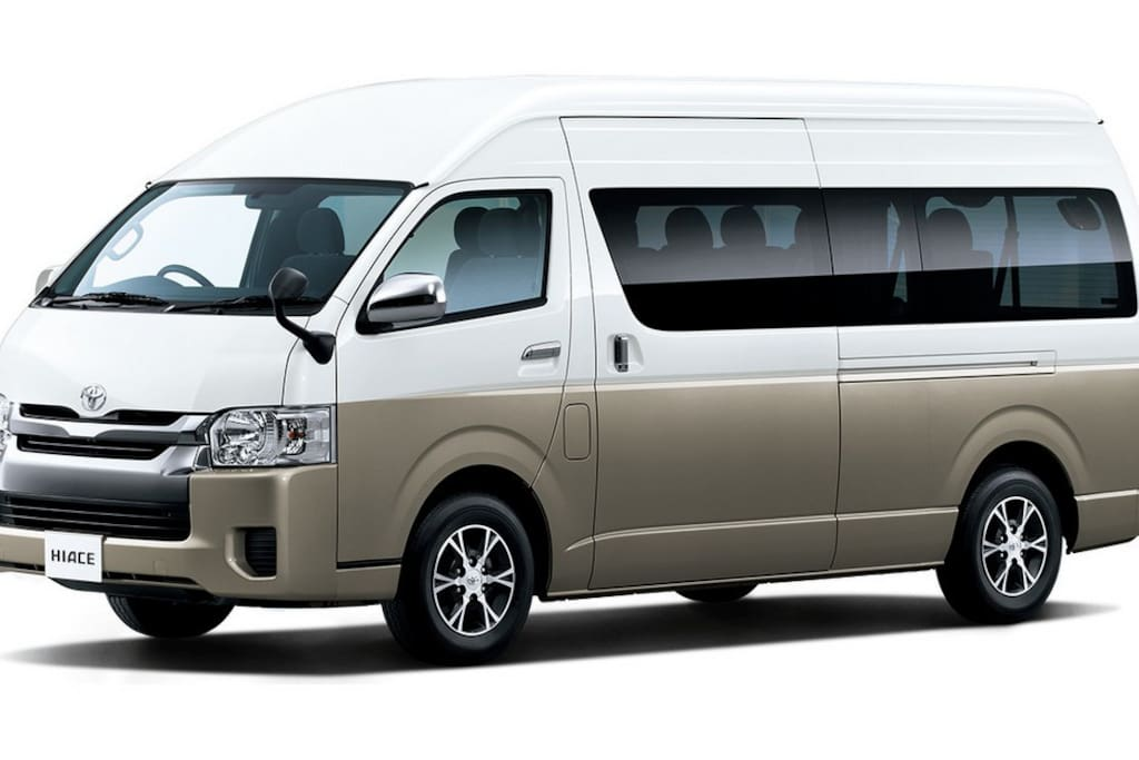 Narita and Haneda Airport and other place pick-up service MAX 9 guests and 9 suitcase and some handbags(this car have free wifi). please booking this service as soon as possible because very popular service for all guests.