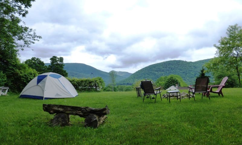 Beautiful private campsite - West Rutland
