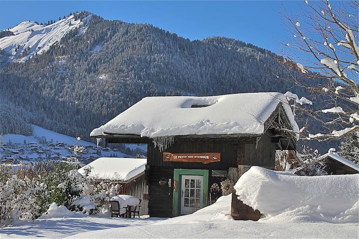 Cosy, private chalet just for two - Montriond - Huis