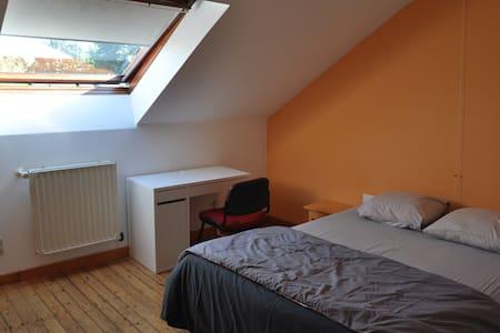 Chambre privée cosy 1 (25 min de Bxl et Charleroi) - Nivelles
