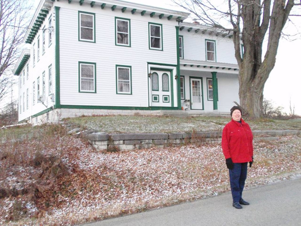 The historic Hoffman Farm, circa 1850, is located in the foothills of the Adirondack mountains in south central New York.  Lots of hiking, scenic views and relaxation abound.