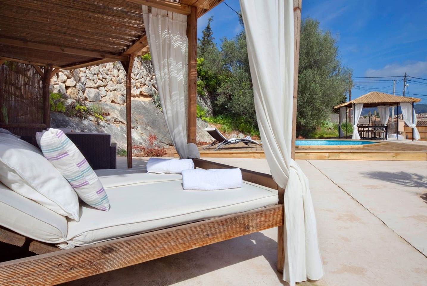 Relax on our day bed.
