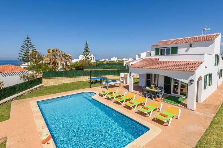 Dion 3 bedroom villa, Calan Bosch