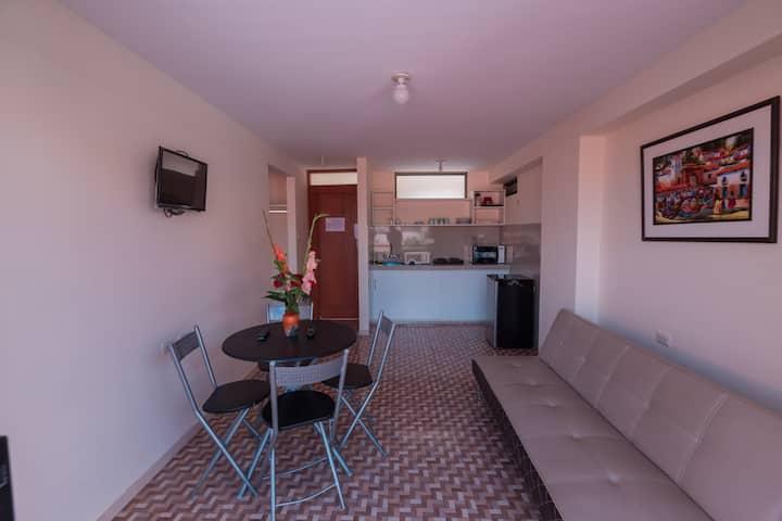 Apartamento Privado con Balcon