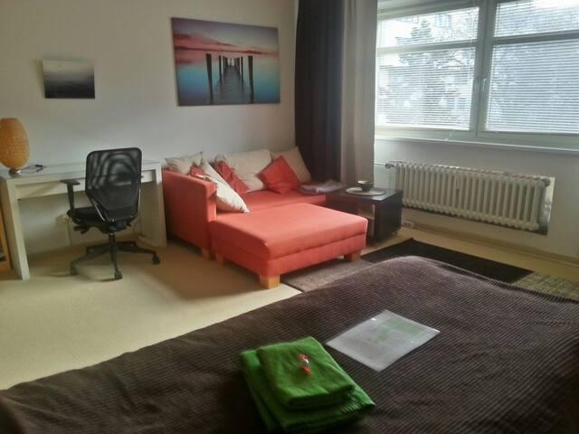 quiet room centrally located - Berlijn - Appartement
