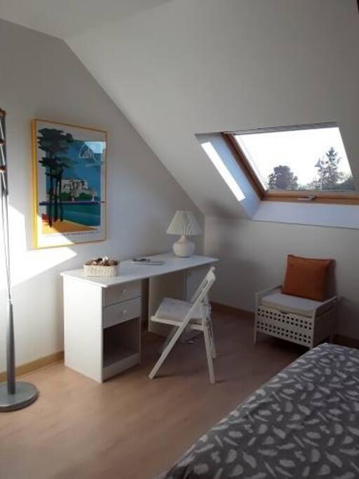chambre chez l 39 habitant houses for rent in moz sur louet pays de la loire france. Black Bedroom Furniture Sets. Home Design Ideas