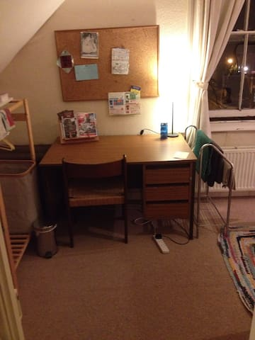 Study bedroom, shared flat