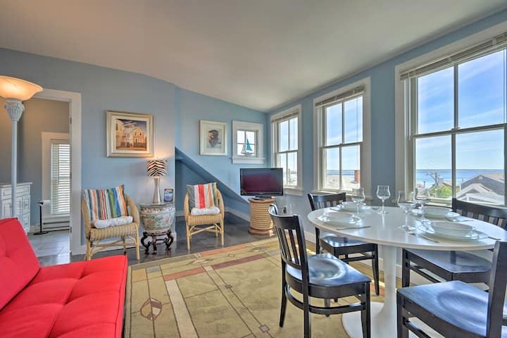 Splendid Provincetown Penthouse Apartment w/ Deck!