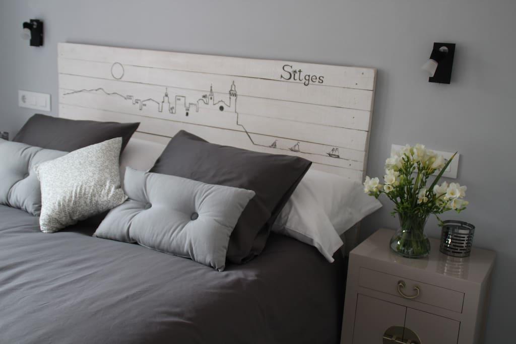 Cómoda cama de 150cm