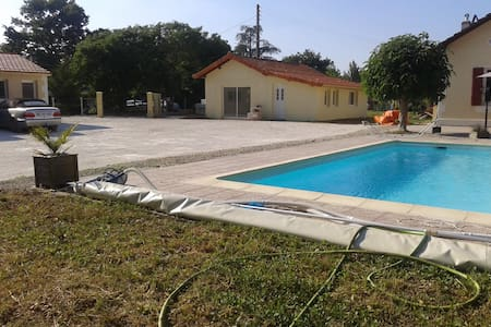 Gite 4 persons, use of swimmingpool