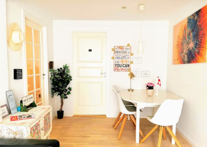 5 Minute walk to LEGO House -2 bedrooms apartment