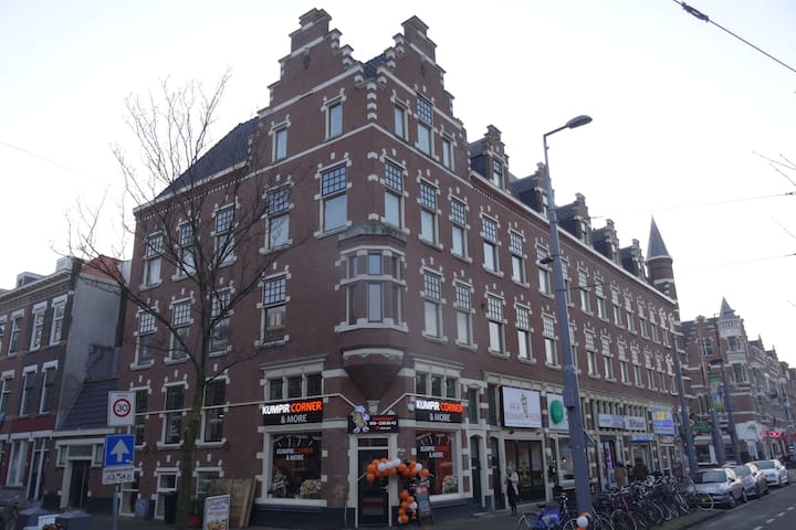 Spacious rooms at central location in Rotterdam - Rotterdam - Wohnung