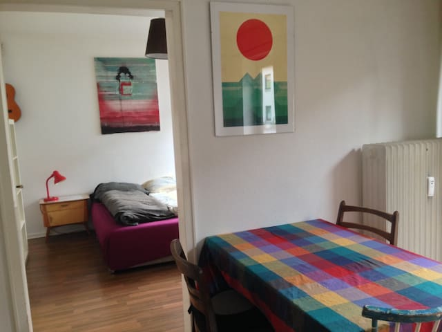 Bremen City. 2 Rooms for up to 4 Persons.