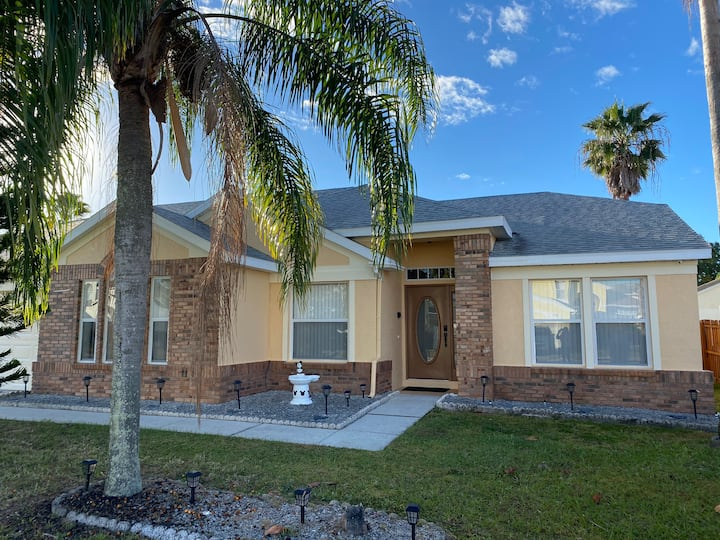 Disney Orlando vacation home with private pool 2
