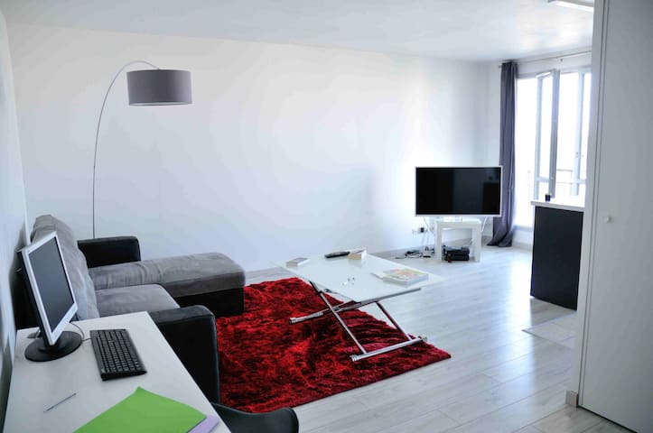 Appartement calme Centre Ville - Mantes-la-Jolie