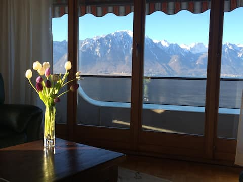 Montreux Music BnB: friendly, with good breakfast!