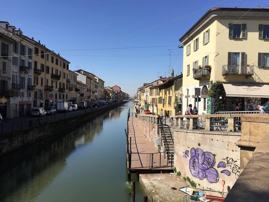 canals- navigli close to home
