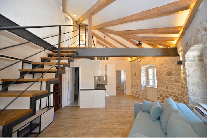 Luxury Brand-New LOFT inside Kotor Old Town Walls