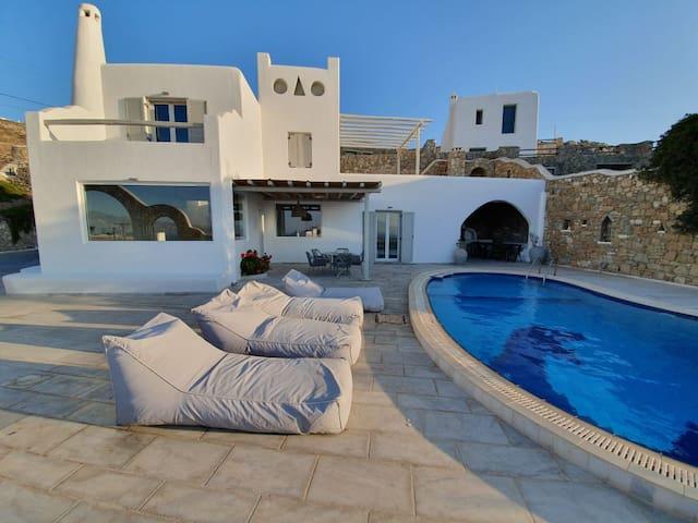 Dolfino 4Bed Villa in Kanalia (Pool/Seaview)