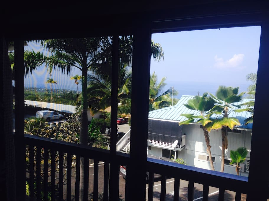 View from the Lanai.