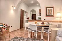 Panoramica dell'appartamento