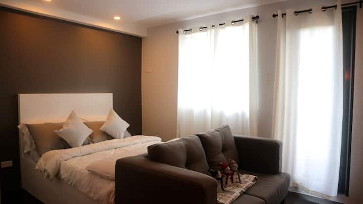New cozy Studio type condo unit in Quezon City