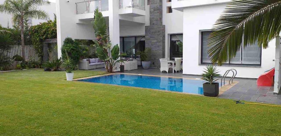 VIP Villa Maid & Pool in Bouskoura-Casablanca