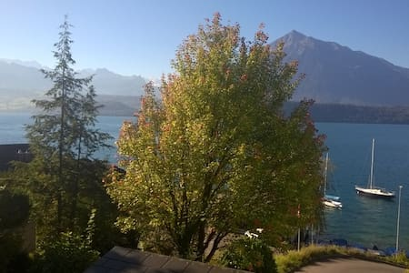 125qm Loft at the lake of Thun - Gunten