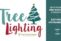 Nov 23rd | Sponsored by Star 102 & Q104 Jingle all the way to Crocker Park for the arrival of Santa Claus and the lighting of our 50-foot Christmas tree. 5-7:30PM