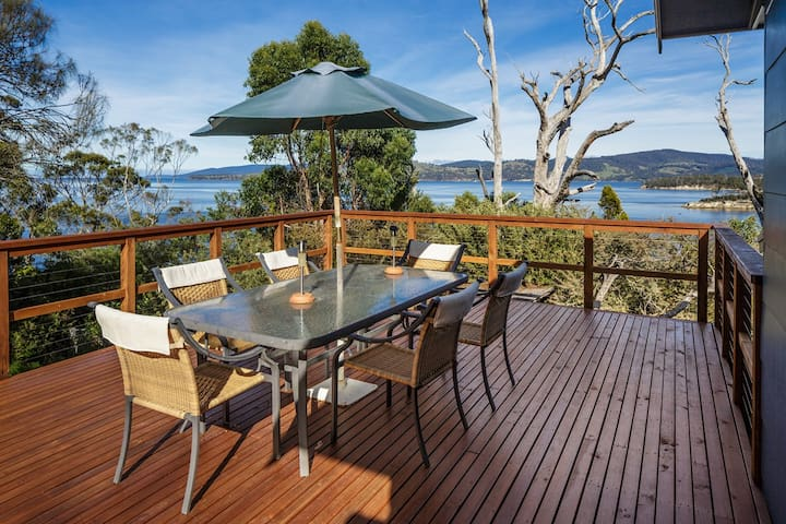 R@R - The ultimate Huon beach oasis - Randalls Bay - Hus