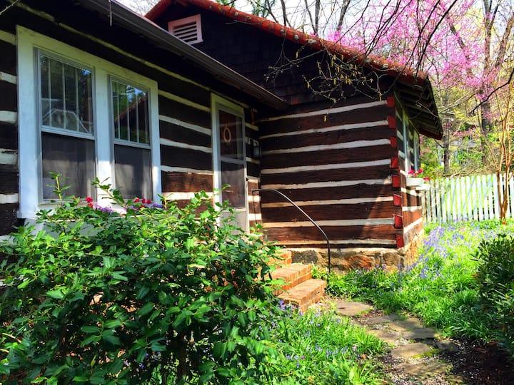 The Cabin In Grove Park