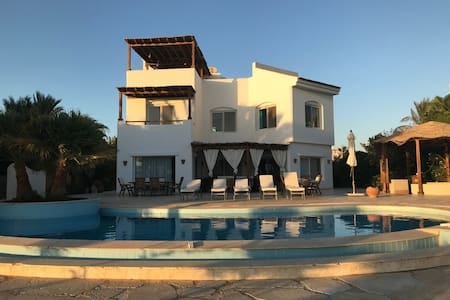Beautiful 4 bedroom white villa with private pool