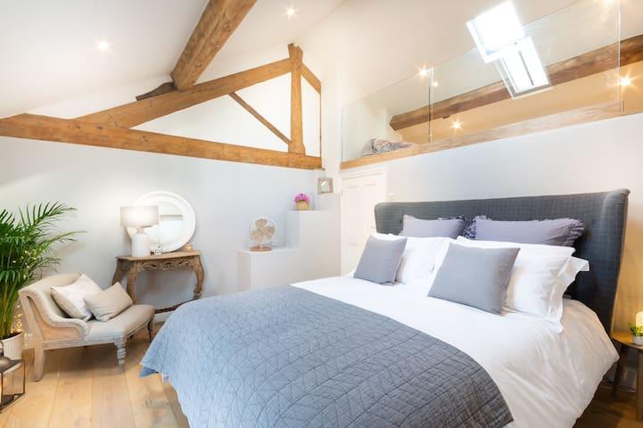 Master Bedroom with mezzanine
