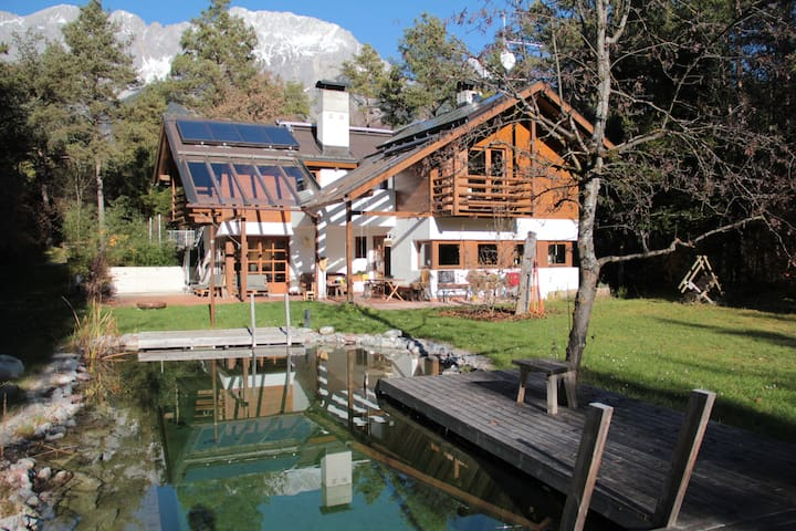 Country House with Pool and Sauna - Obermieming - Casa