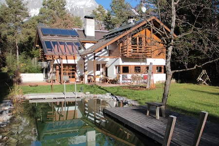 Country House with Pool and Sauna - Obermieming - Ház