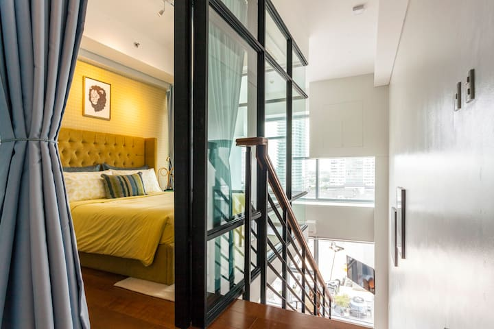 New! Sophisticated 1BR Greenbelt Loft w/ View! - Makati - 公寓