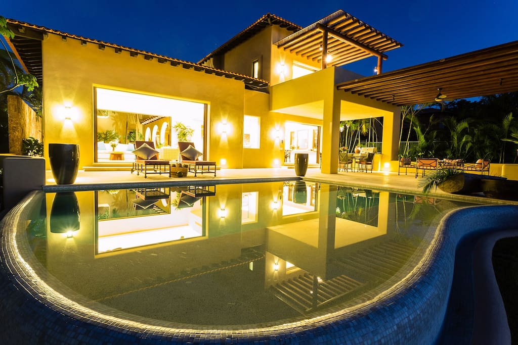 Night time from Pool
