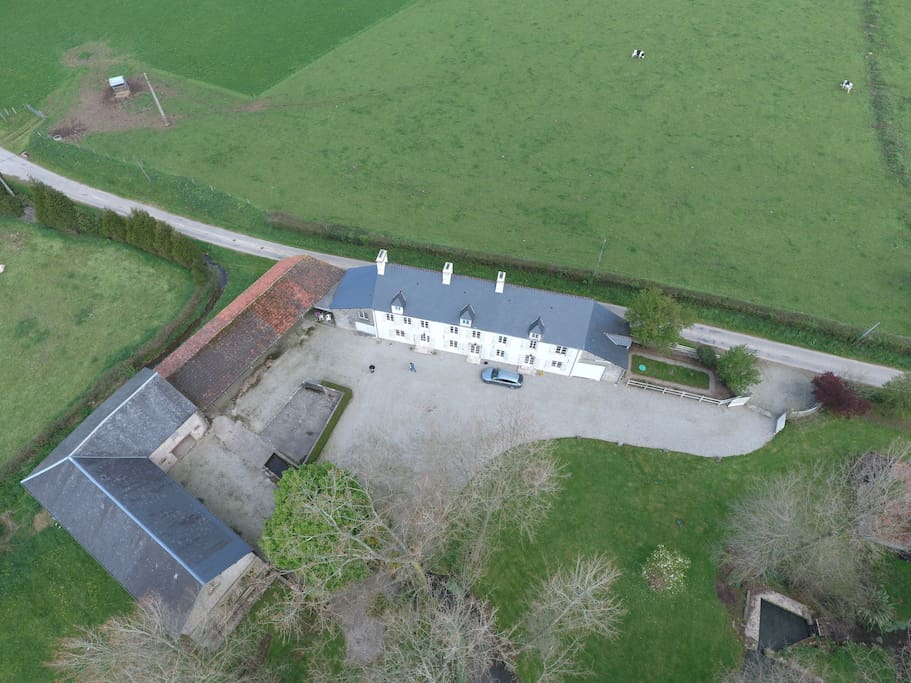 The property from the air