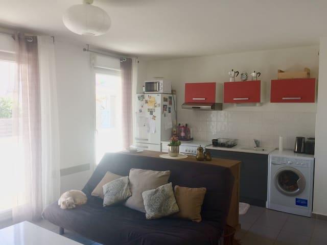 Joli T2 avec balcon - Perpignan - Apartment
