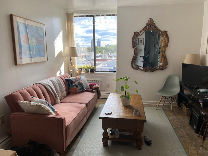 Large 1BD with park views on the Upper West Side