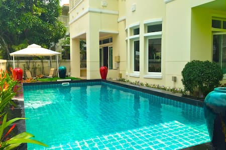 5 BEDROOM FAMILY POOL VILLA CLOSE CENTRAL WESTGATE - Nonthaburi