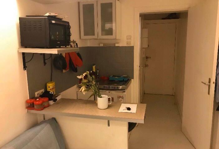 Petit studio parisien