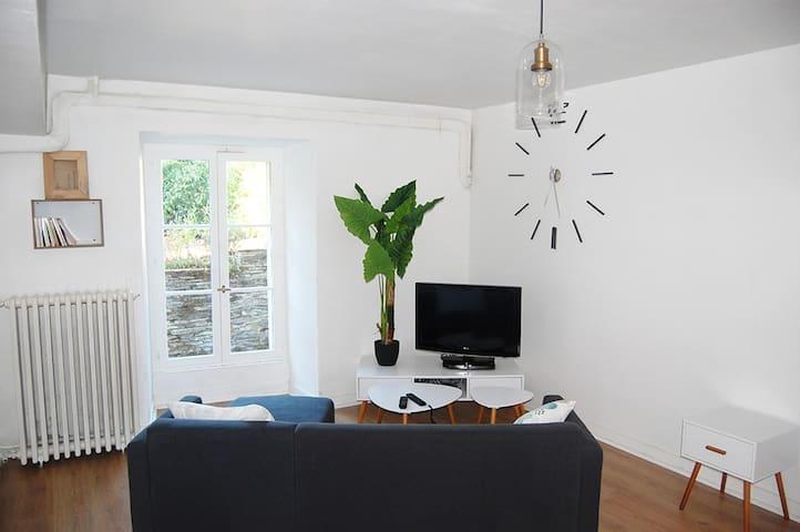 Studio 40 M2, Entre Ville Et Rivière. - Les Ponts-de-Cé - Dom