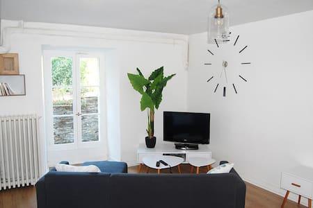 Studio 40 M2, Entre Ville Et Rivière. - Les Ponts-de-Cé - Casa