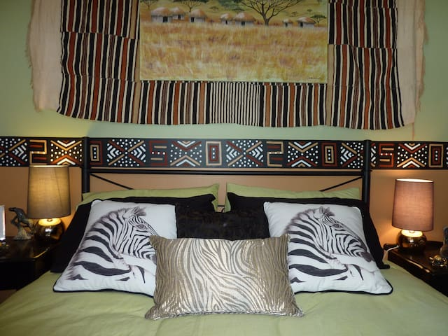 The Safari Room - Creswick - Casa